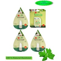 So Sweet 100 Stevia Tablets and Liquid 300 Drops (Pack of 3) Natural Sweeteners
