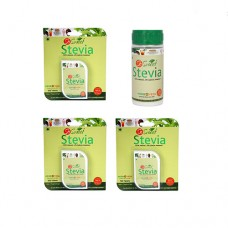 So Sweet Stevia Combo of 300 Stevia Tablets and Stevia 100 gm Spoonable Bottle