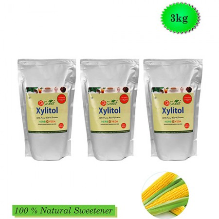 So Sweet 1 Kg Xylitol (Pack of 3)